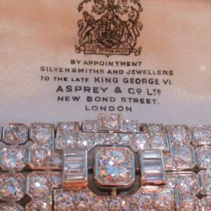 Exceptional antique diamond bracelet