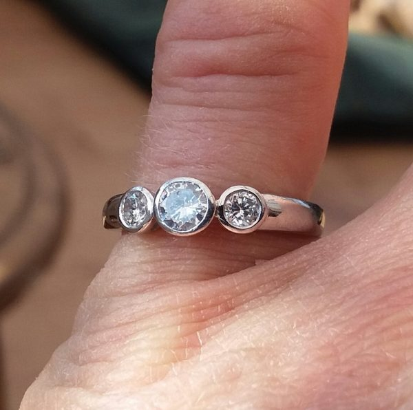 Affordable diamond ring