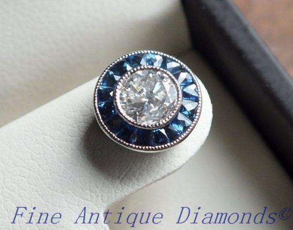 Stunning old cut diamond earring