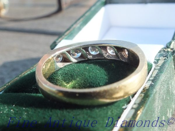 Beautiful old cut diamond ring for engagement