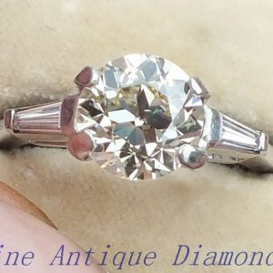 Old cut diamond ring very special