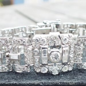 Exceptional antique diamond bracelet