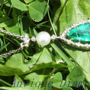 Exquisite 2.50ct Columbian emerald & diamond ring