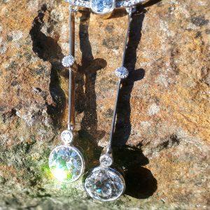 Rare antique negligee necklace